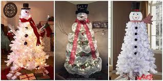 Snowman Christmas Tree Tutorial