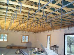 pose rail placo plafond plafond notre maison dans le quercy blanc