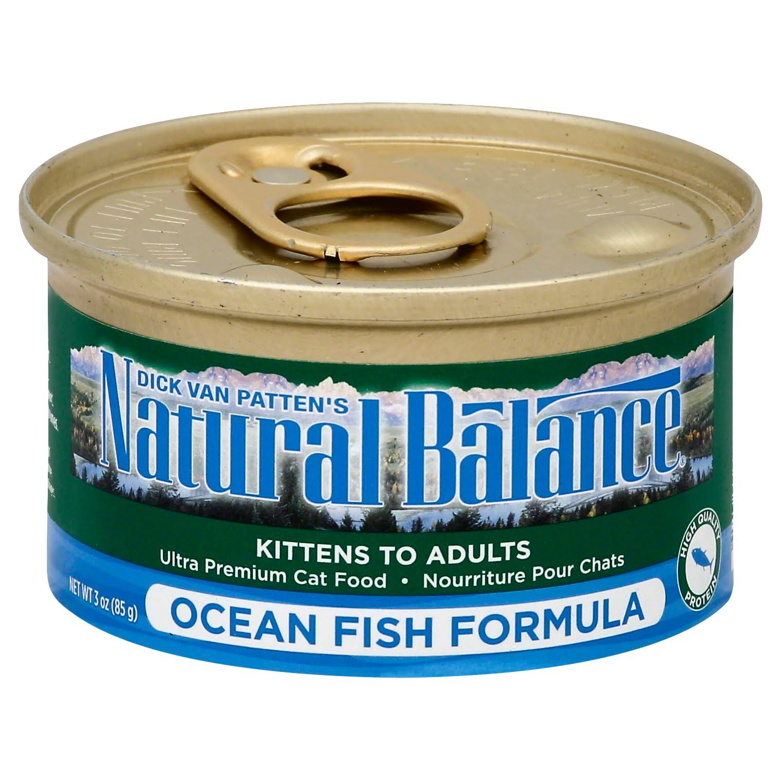 Natural Balance Ultra Premium Canned Cat Food - Ocean Fish Formula, 3oz