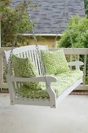Fred Meyer Patio Furniture Covers by Best 25 Porch Swing Cushions Ideas That You Will Like On