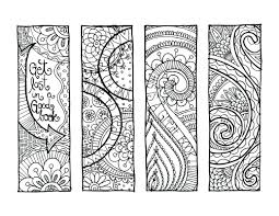 Printable Coloring Bookmarks For Adults Free Frozen Pictures Bookmark Pages Valentine Full Size