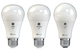 ge relax refresh and reveal led light bulb reviews two are