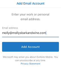 Outlook app on iPhone & iPad Set up email