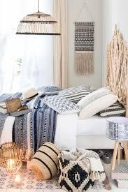 Black And White Bohemian Bedroom Inspiration Homedecort