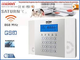 pack alarme maison sans fil 868mhz meian gsm promo
