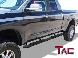 100 Tundra Truck Accessories TAC 425 Side Steps Fit 20072018 Toyota Double Cab Pickup