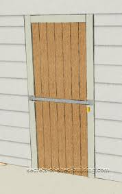 Arrow Shed Door Assembly by Choose A Shed Door Lock To Keep Your Shed Secure