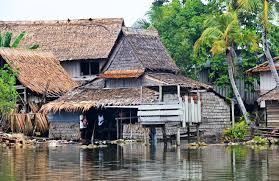 Sinking Islands In The South Pacific by Sea Level Rise Has Claimed Five Whole Islands In The Pacific