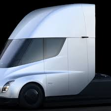 100 Aerodynamic Semi Truck Teslas Electric Semi Truck Elon Musk Unveils His New