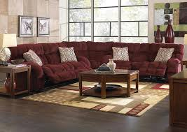 Furniture World Petal MS Siesta Wine Chianti Lay Flat Reclining