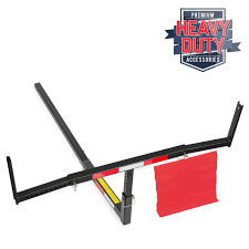 Pickup Bed Extender by Pick Up Truck Bed Hitch Extender Steel Extension Rack Hauling
