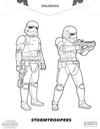Grab Your Crayons And Download These Out Of This World Star Wars Coloring Pages