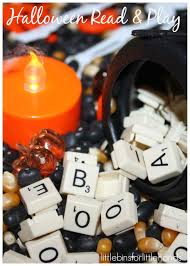 Cliffords Halloween by Alphabet Halloween Sensory Bin Halloween Read And Play Little