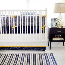 navy and gold arrow crib bedding arrow baby bedding navy and