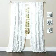 Gray Ruffle Blackout Curtains by White Curtains 96 Curtain Beautiful Inch Blackout Curtains Decor