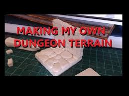 making my own 3d dungeon tiles casting resin youtube