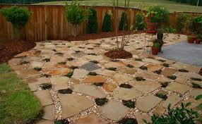 concrete patio on slope best patio materials yard ideas