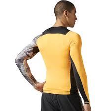 Reebok Spartan Race L/s Compression T-shirts Tech Long ...