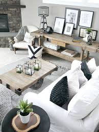 Bringing The Outdoors In Rustic Living RoomsModern Room DecorLiving