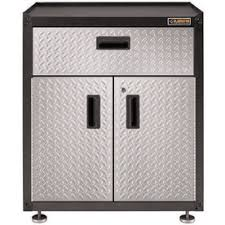 Free Standing Storage Cabinets For Garage by Shop Garage Cabinets U0026 Storage Systems At Lowes Com