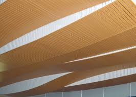 Rulon Suspended Wood Ceilings by Park Hill Aquatic Center Rulon International Inc