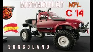 100 Rc Truck Kit WPL C14 Pickup RC 4wd Truck KIT TOYOTA HILUX Montado En