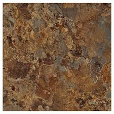 Groutable Self Stick Tile by Shop Armstrong Flooring Terraza 1 Piece 12 In X 12 In Patina Shale