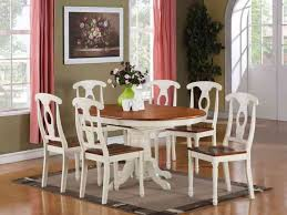 Casual Kitchen Table Centerpiece Ideas by Kitchen 44 Ohana White Round Dining Table Casual Kitchen Dining
