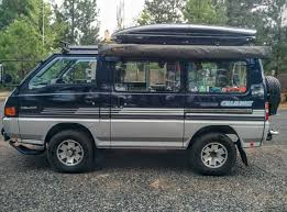 For Sale Is My Mitsubishi Delica That I Imported From BC Canada Three Years Ago Since Then It Has Been A Labor Of Love Converting This Van Into