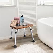 bad möbel wc hocker metalic fächerförmigen bambus bad sitze dusche stuhl ba7007