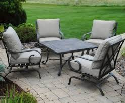 Albertsons Grocery Patio Furniture by Save 200 On This 5 Piece Hattington Collection Menards