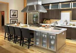 Fascinating Wooden And Green Tropical Kitchen Design With ... Kitchen Design Home Impressive 20 Professional Awesome Ideas Kitchen Design White Cabinets In Fascating Designs Designer Room Marvelous Custom Remodel New Black Tiles Dark Metal Cabinet Wonderful To Industrial For Easy