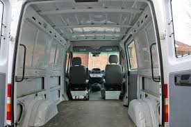 Sprinter Cargo Van Conversion Base Empty At Start