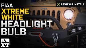 jeep wrangler piaa xtreme white headlight bulb 2007 2017 jk