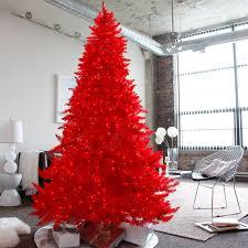 Hayneedle Flocked Christmas Trees by Collapsible Christmas Tree Pre Lit Christmas Lights Decoration
