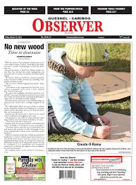 Tims Pumpkin Patch 13110 by Quesnel Cariboo Observer October 19 2012 By Black Press Issuu