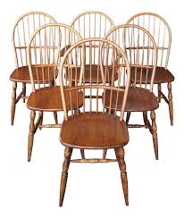 Late 20th Century Colonial Windsor Style American Bow Back Ash Wood Dining  Chairs - Set Of 6 Home Decor Tempting Windsor Ding Chairs Cool Dr Dimes Genuine Farmhouse Farm Table South American Walnut 180758555 Lovely Made Solid Maple Set Of 4 Back Antique Stiback Chairs And Table In Colonial The Best Ding You Can Buy Business Insider Senarai Harga Nordic Chair Classic Style Modern 2 Ethan Allen Impressions Solid Cherry Slat Back 246401 Ted Spindles Safavieh Parker Spindle Set Of New Haven