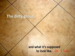 my tile grout revealed the steam