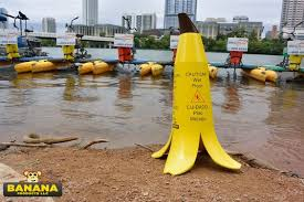 Caution Wet Floor Banana Sign by Banana Wet Floor Austin Banana Products Banana Peel Caution