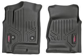 Rough Country | M-2141 | Heavy Duty Floor Mats Front Set 14-18 GM ... Customfit Faux Leather Car Floor Mats For Toyota Corolla 32019 All Weather Heavy Duty Rubber 3 Piece Black Somersets Top Truck Accsories Provider Gives Reasons You Need Oxgord Eagle Peterbilt Merchandise Trucks Front Set Regular Quad Cab Models W Full Bestfh Tan Seat Covers With Mat Combo Weathershield Hd Trunk Cargo Liner Auto Beige Amazoncom Universal Fit Frontrear 4piece Ridged Michelin Edgeliner 4 Youtube 02 Ford Expeditionf 1 50 Husky Liners