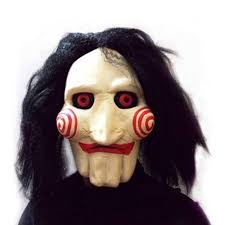 Halloween Scary Pranks 2015 by 2015 Face Mask Saw Jigsaw Puppet Mask Halloween Full