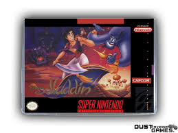 Aladdin SNES Super Nintendo Game Case Box Cover Brand New ...