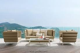 canapé de jardin design salon de jardin pad de talenti en vente sur vue jardin com