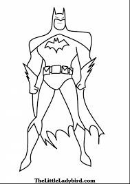 Superb Batman Coloring Pages With Free And Robin