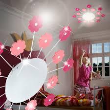 lumiere pour chambre fleur luminaire de plafond ø615mm enfant fuchsia pâle