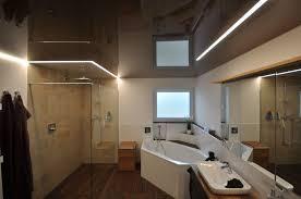 spanndecke im badezimmer dusche beleuchtung spanndecken