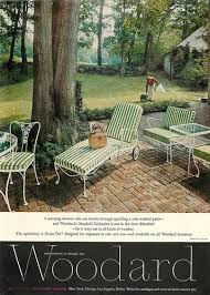 Vintage Wrought Iron Patio Furniture Woodard by 1962 Woodard Mayfield Ad Vintage Wrought Iron Patio Furniture