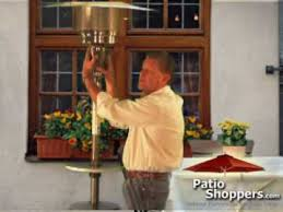 Garden Treasures Patio Heater Assembly Instructions by Propane Patio Heater Troubleshooting Youtube