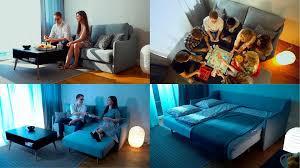 inosign sofa magic tiny alpha sofa xl 3 teile mit integrierten versteckten hockern schlaffunktion möglich eine vielzahl sitz und