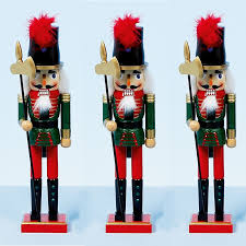 Ebay Christmas Trees India by 38cm Xmas Christmas Traditional Style Nutcracker Wooden Guard